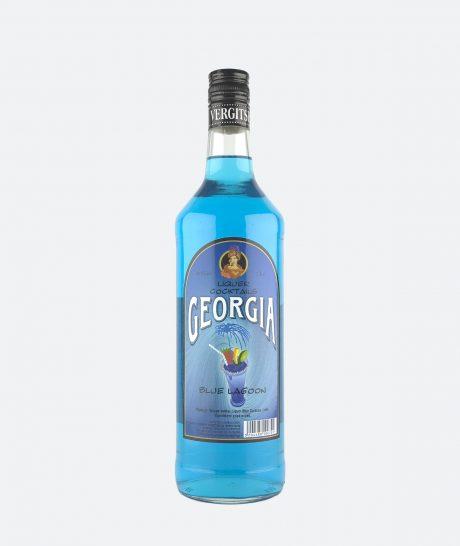 Georgia cocktail blue lagoon