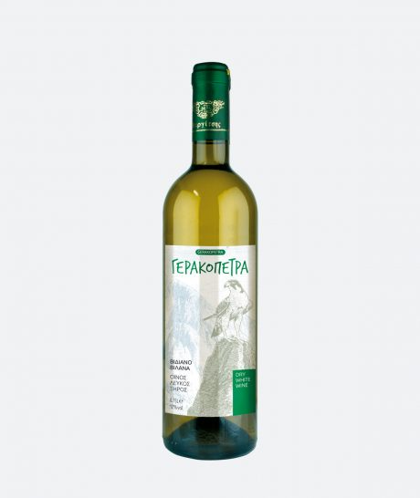 Γερακόπετρα – Λευκός Ξηρός Οίνος