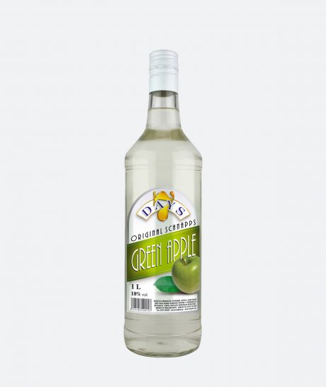 7 Days – Schnapps – Green Apple