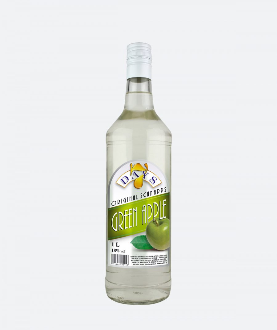 7 Days – Schnapps – Green Apple