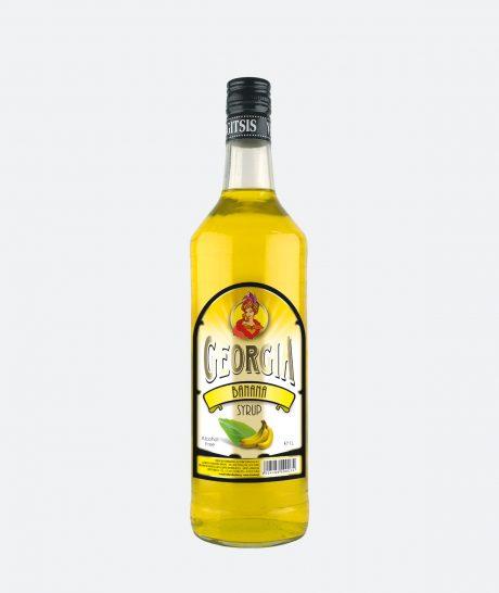Georgia Banana Syrup, Χωρίς αλκοόλ
