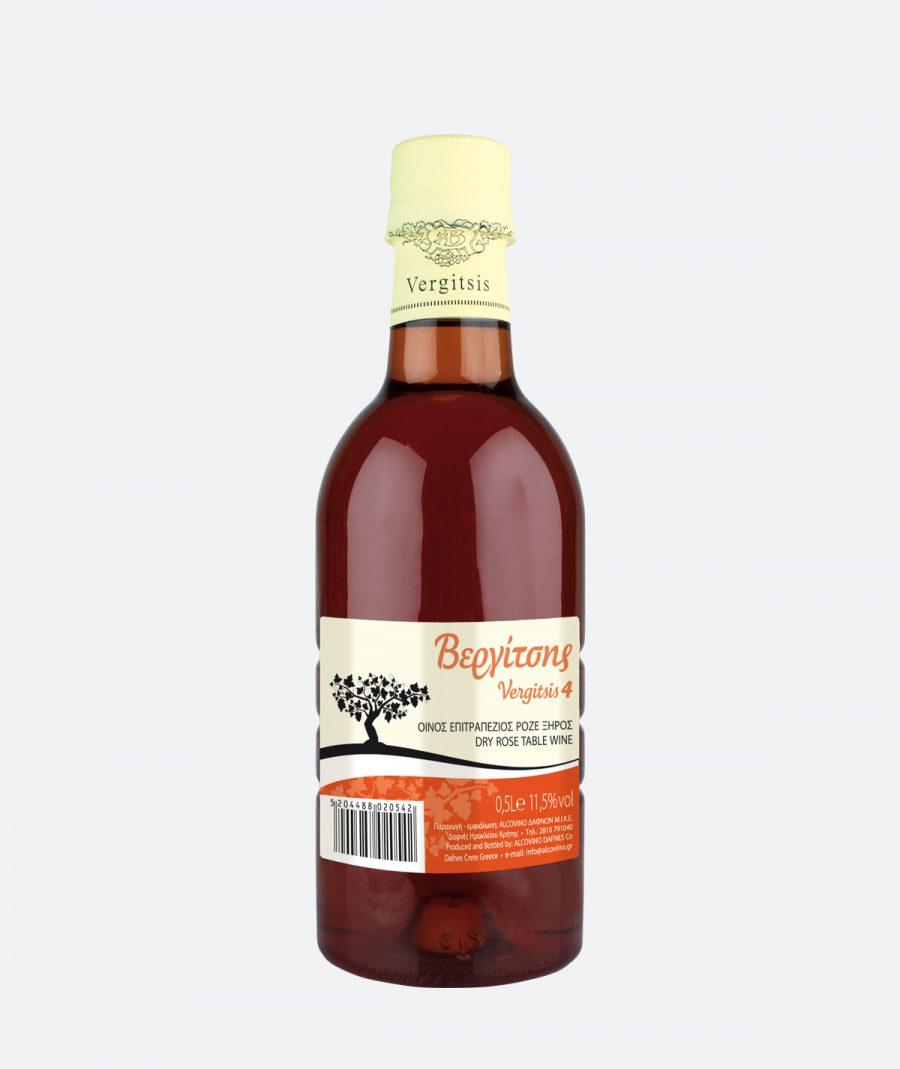 ΒΕΡΓΙΤΣΗΣ 4 - Ροζέ Ξηρός Οίνος